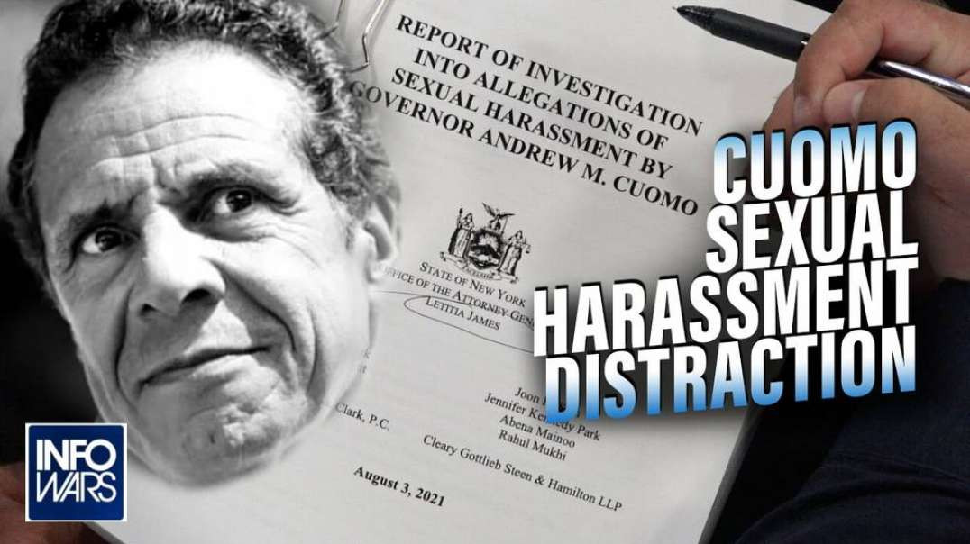 Cuomo Harassment Case a Distraction from Medical Tyranny Failures