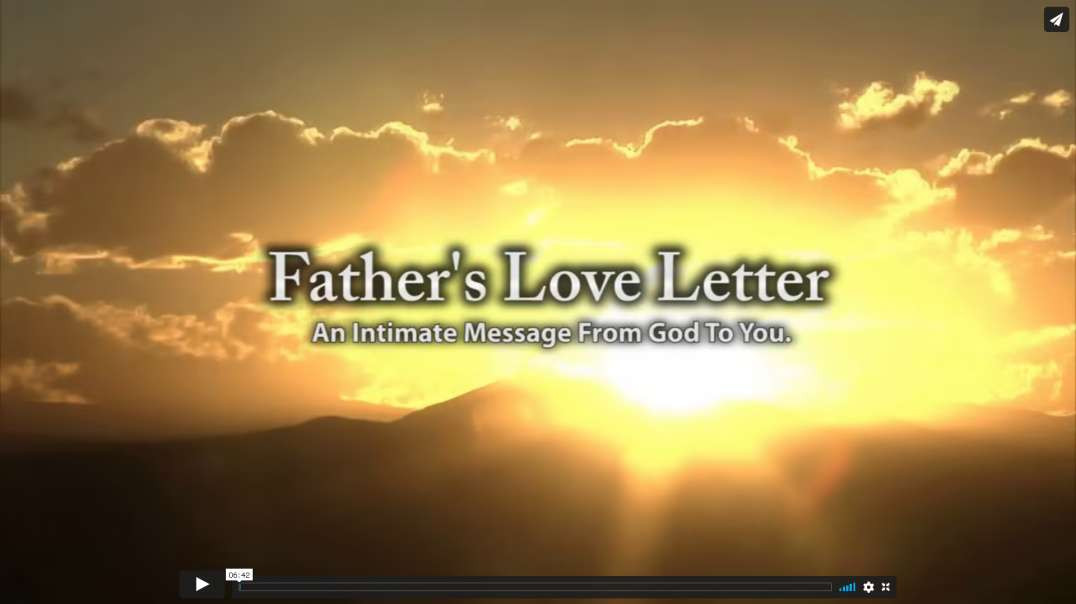 A Fathers Love Letter