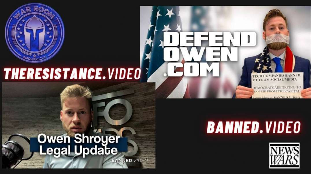 Owen Shroyer Gives Update On Legal Situation & Defense Funding