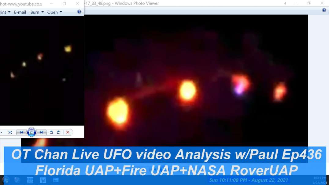 Mars Surface Artifact + Florida UAP + Fire UAP - UFO and Space Topics - OT Chan Live-436~ - 1920x108