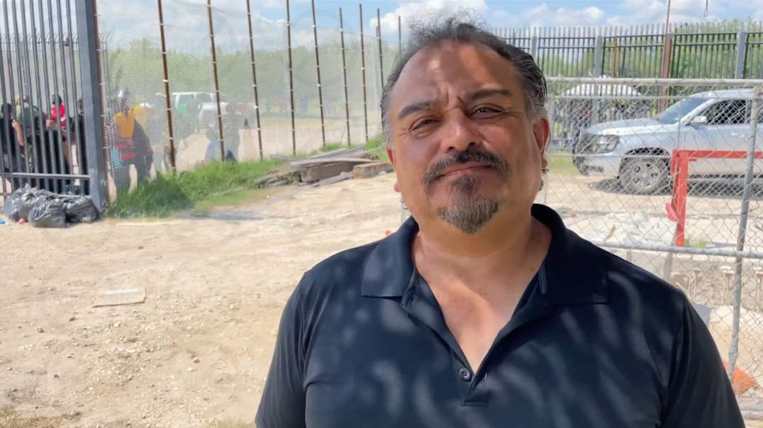 Interview with Frank Lopez Jr from the border invasion*