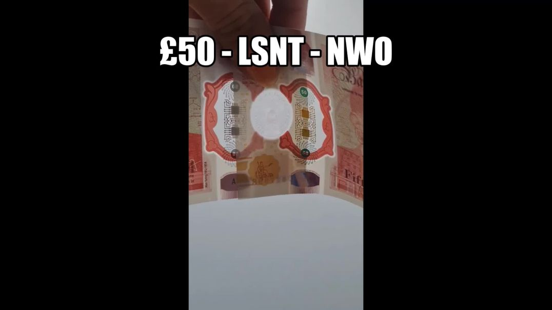 Get Your £50 Notes Out The All Seeing Eye and Chip SIGNS & SYMBOLISM