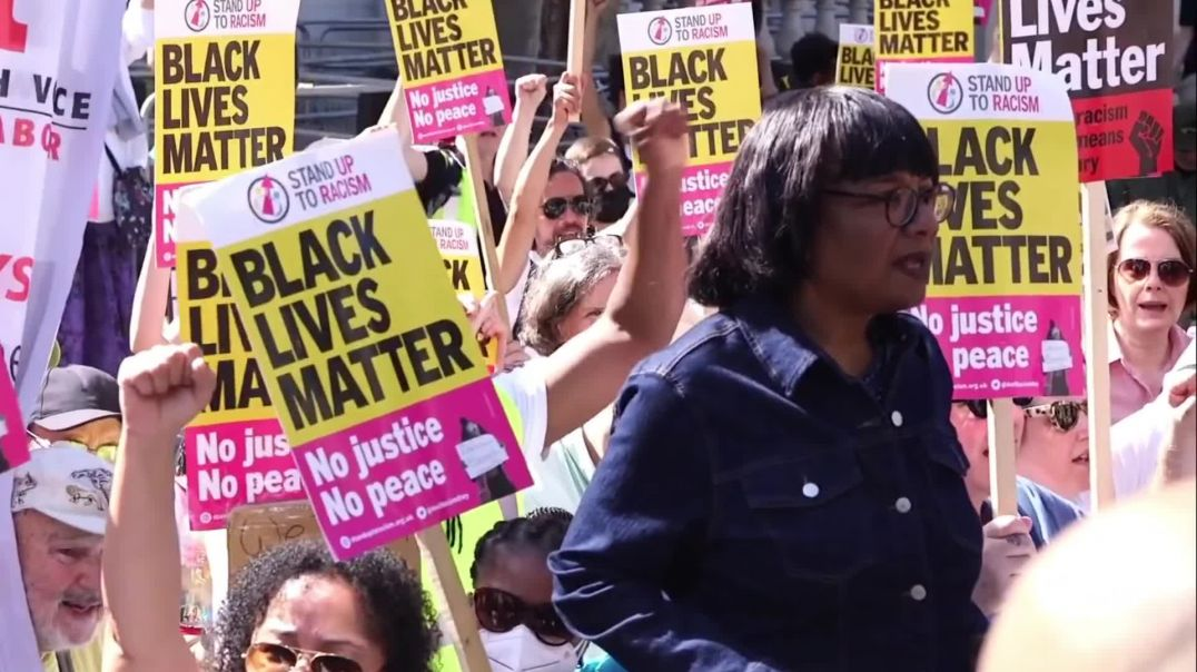 'GO TO HELL!' - Diane Abbott's BIZARRE and Humiliating Appearance at a BLM Rally!(108