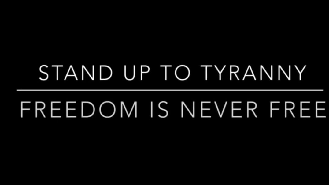 Will You Stand Up To Tyranny?