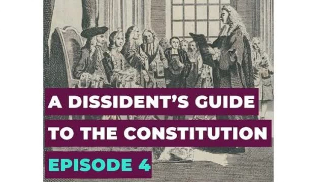 Alex Thomson A Dissident's Guide to the Constitution: Episode 4 - Democracy: The Books