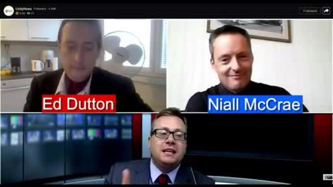 UNN's David Clews hosts a debate between Ed Dutton and Niall Mccrae