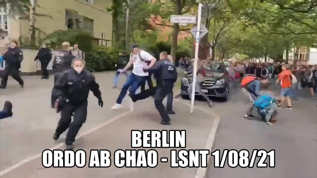 Ordo Ab Chao Berlin Protest 1st August 2021
