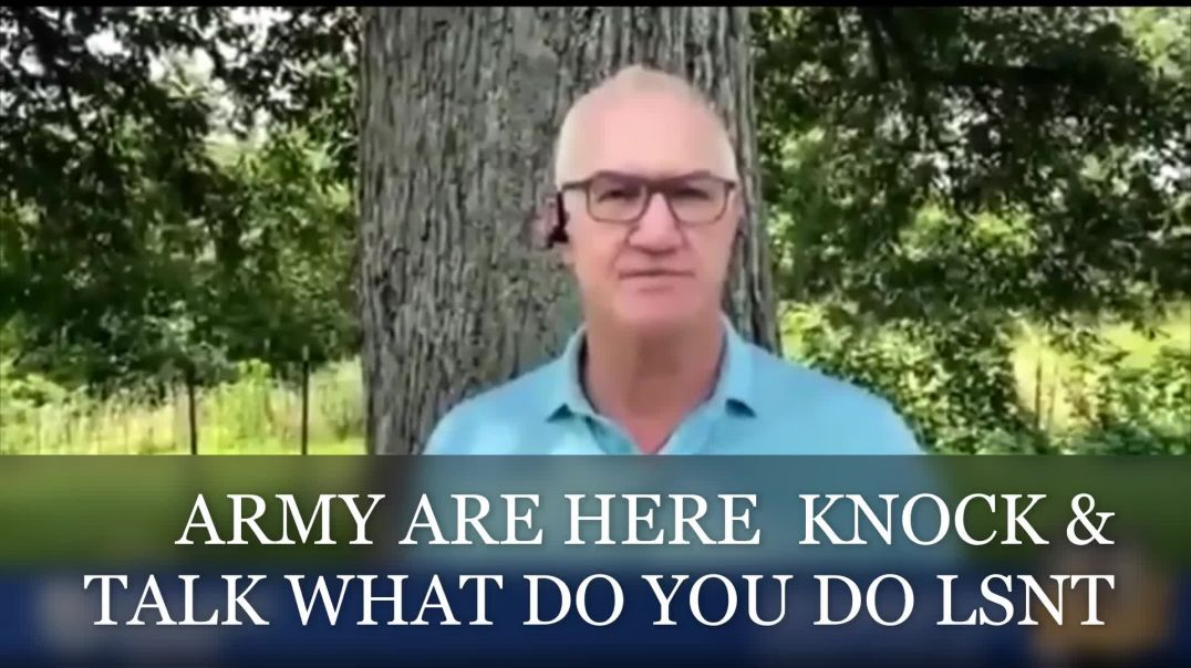 Army Are Knocking Doors - ( Knock & Talk ) WHAT TO DO?