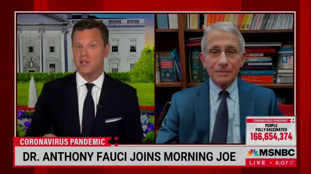 Fauci argues to lock you down and remove your freedom. This guy should be behind bars.