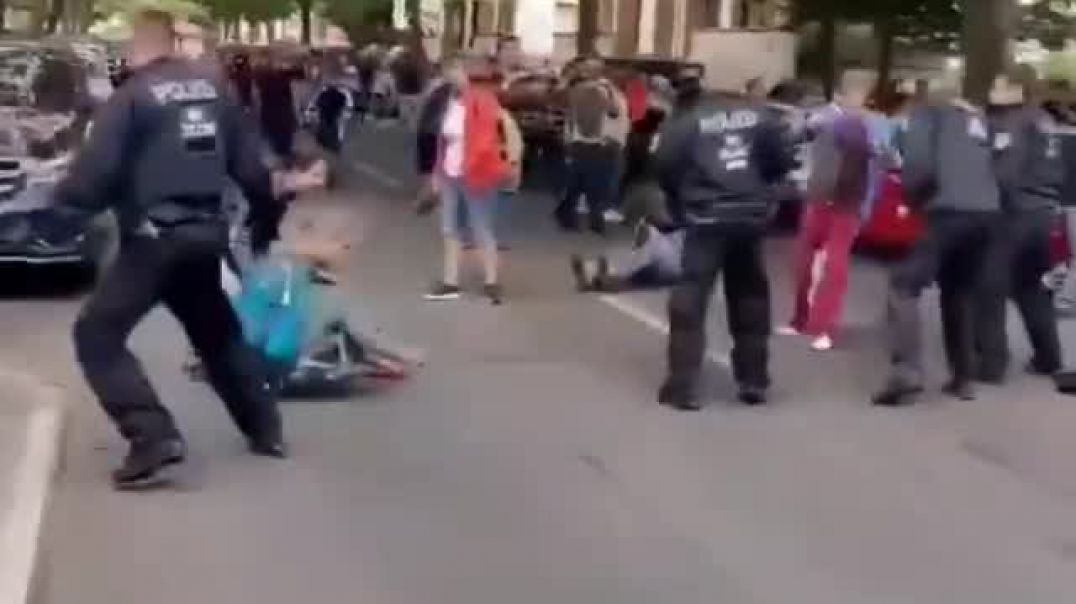 They Tried to Stop A Freedom March in Germany