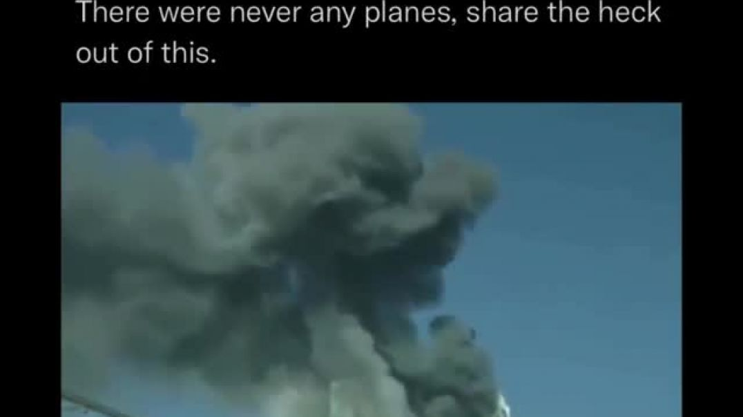 Americas 9/11 No Plane Theory Is In This Video