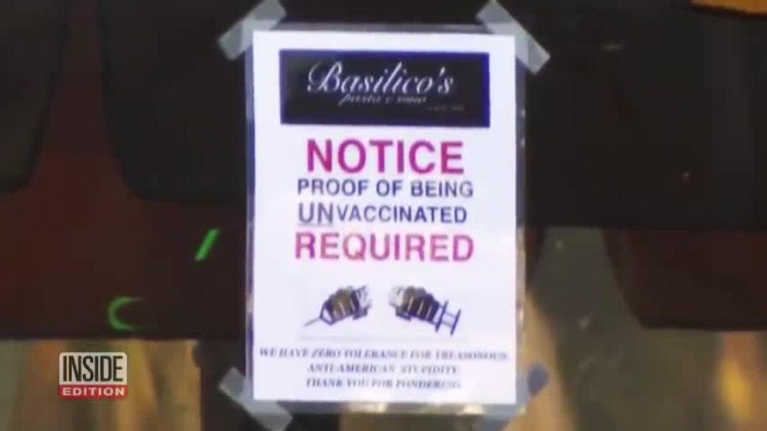 THE Vaccinated Are BANNED Stay Out of My Restaurant!