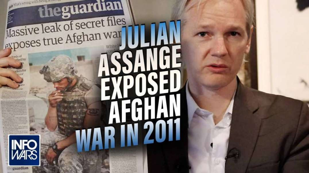 Archive Footage of Julian Assange in 2011 Exposes the Secrets of America's 20-Year Afghan War