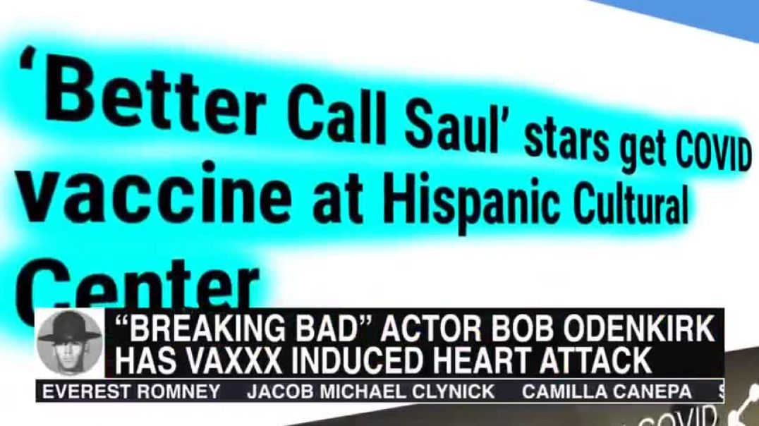"""""""BREAKING BAD"""" AND """"BETTER CALL SAUL"""" ACTOR HAS VAXXX INDUCED HEART ATTACK"""