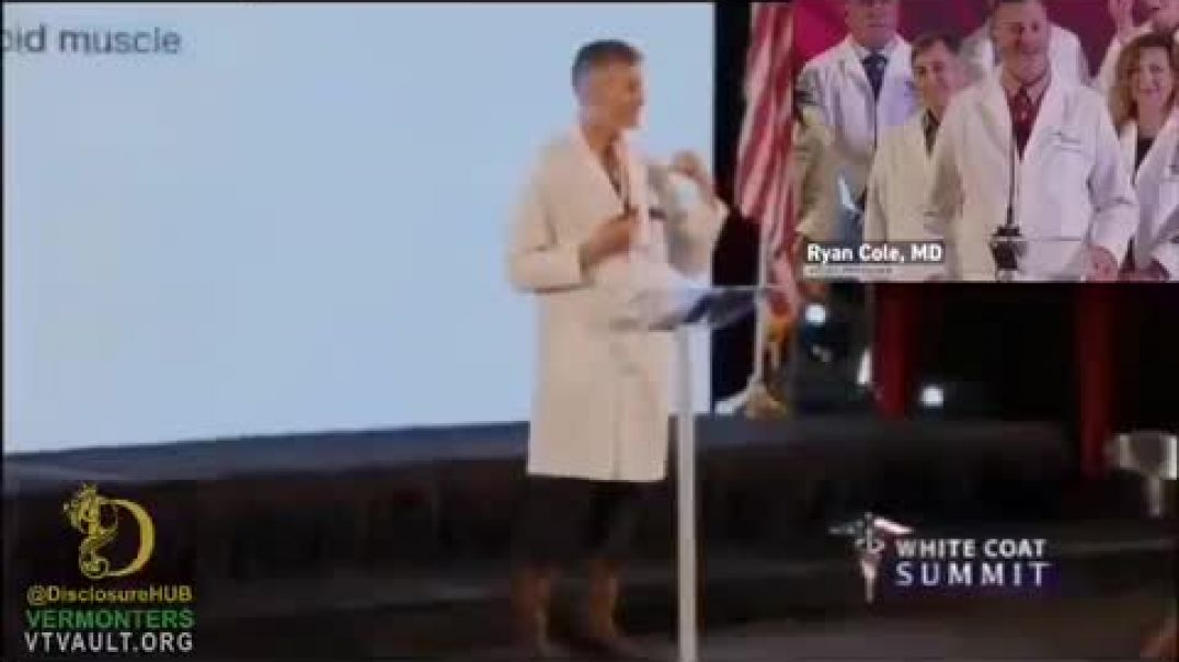 White Coat Summit Talking about Deadly Covid Vaccine Toxin