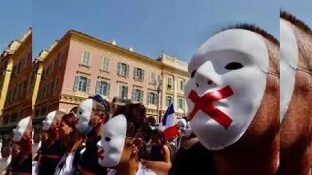 WARNING FROM FRANCE: TYRANNY; FOOD SHORTAGES; STRIKES; HOSPITALS & AIRPORTS SHUT