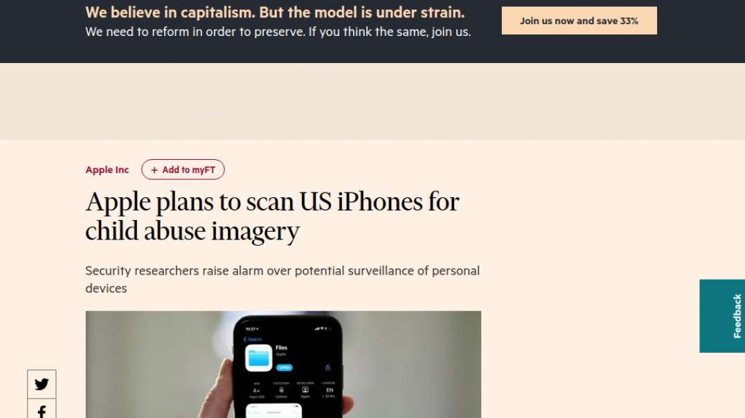 Apple Will Scan Your Phone, Nothing New Though