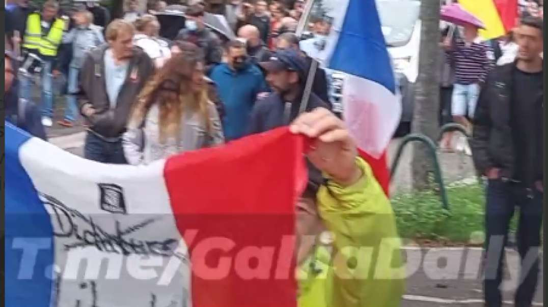 WtF's Evening Report 08-30-2021 France & Germany Protest In Unity... The US Sleeps