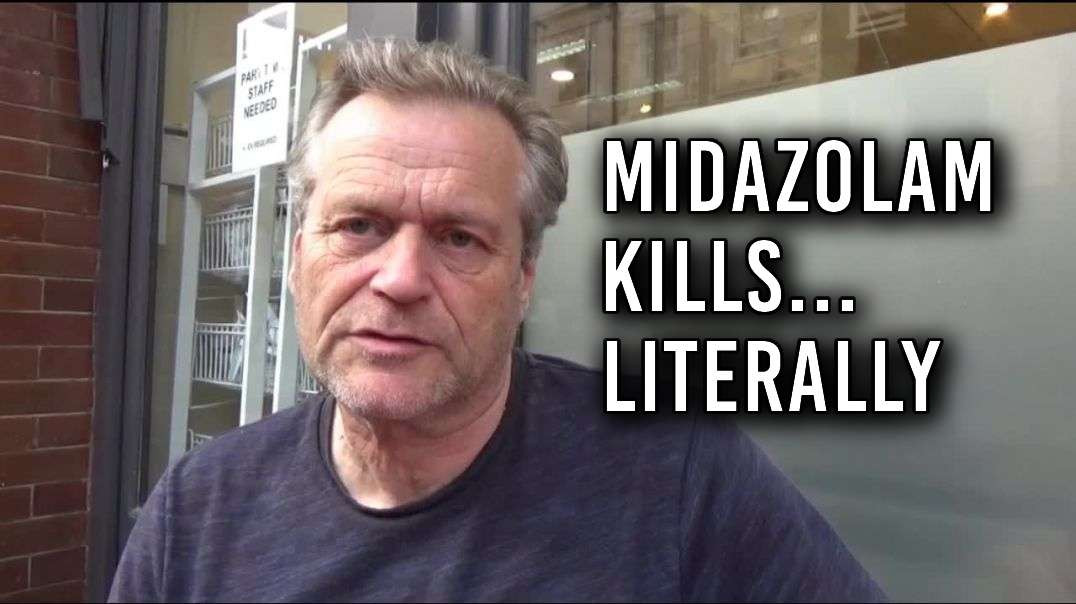 Investigated Murders by Midazolam. Coincidence. Wayne Smith RIP.