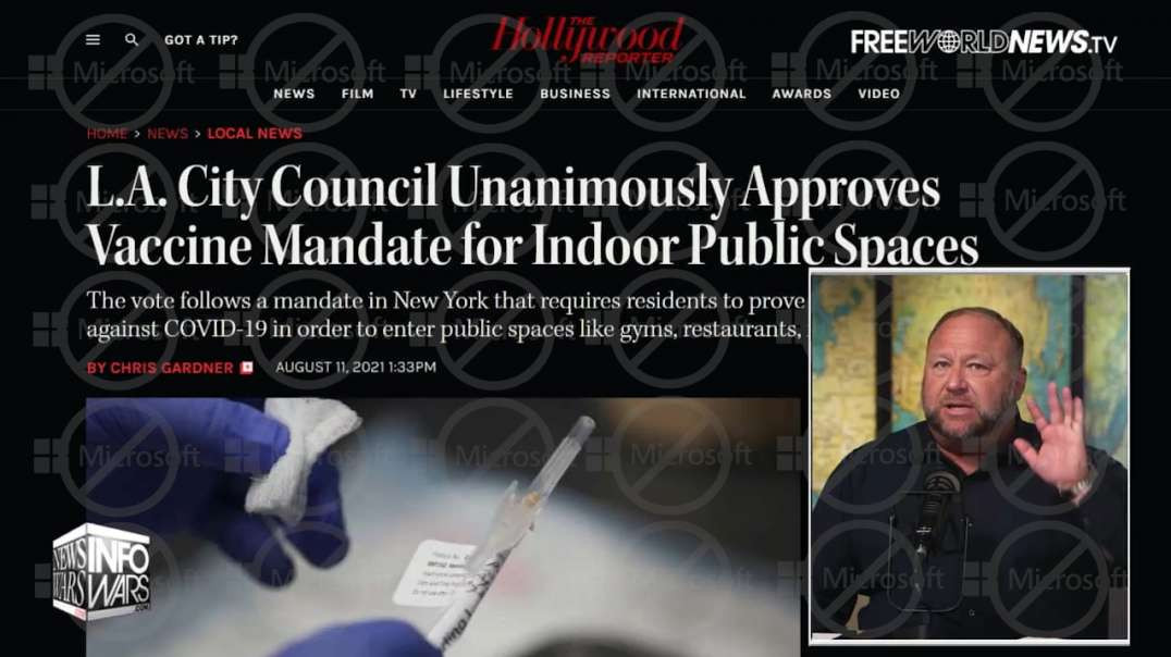 Los Angeles Announces Mandatory Vaccines For All Public Spaces