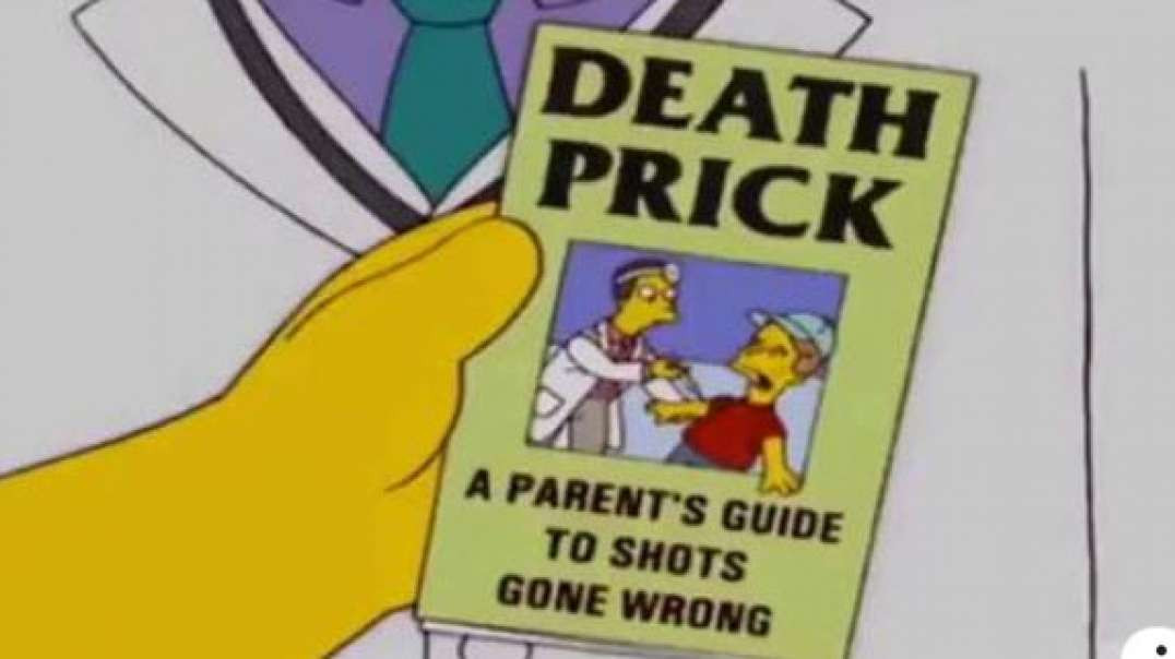 THE SIMPSONS FORCED VACCINATIONS - PREDICTIVE WARNING