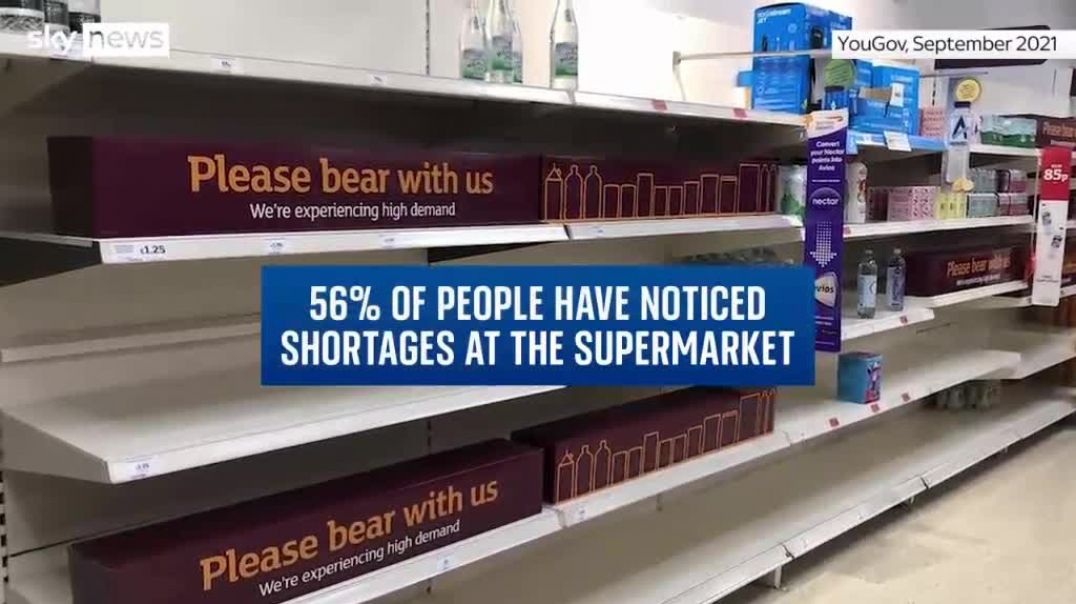 Shortages everywhere - but what is THE REAL REASON???