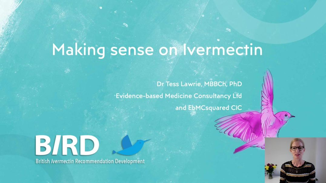 Dr Tess Lawri - Ivermectin WORKS to PREVENT COVID DEATHS - A Systematic Review!