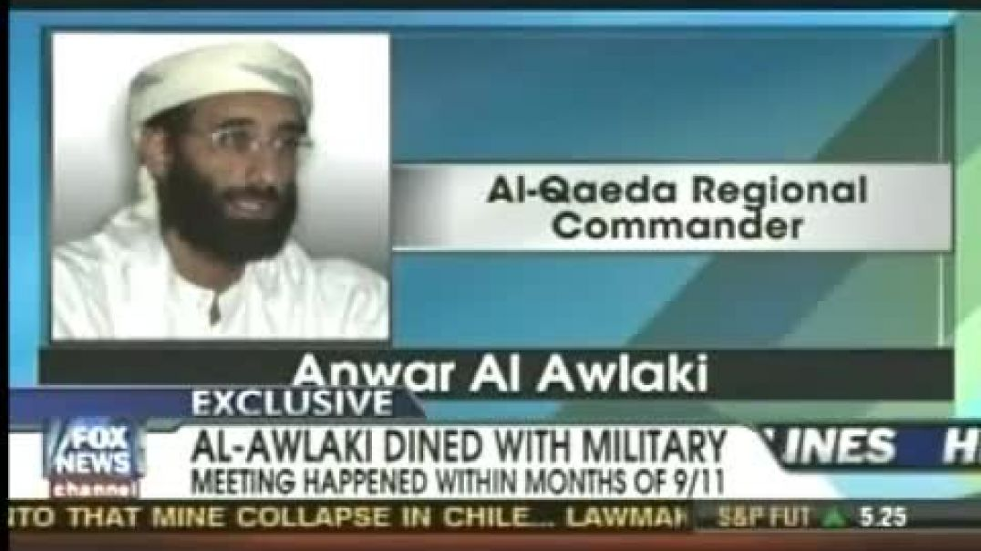 Anwar Al Awlaki_ WANTED TERRORIST DINES WITH UNITED STATES MILITARY