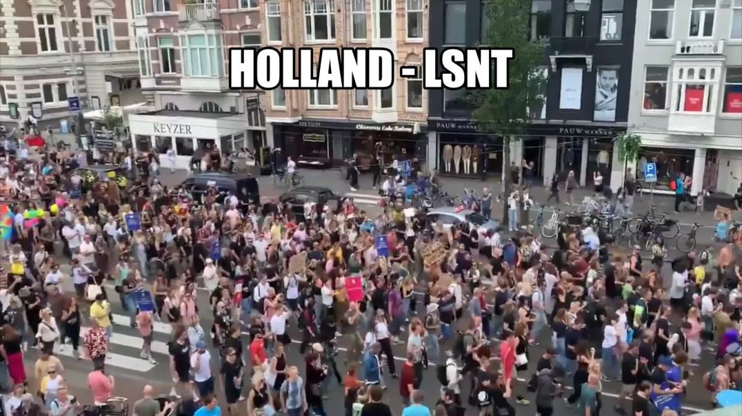 Protest In Holland The People Are Rising Up All Over Europe