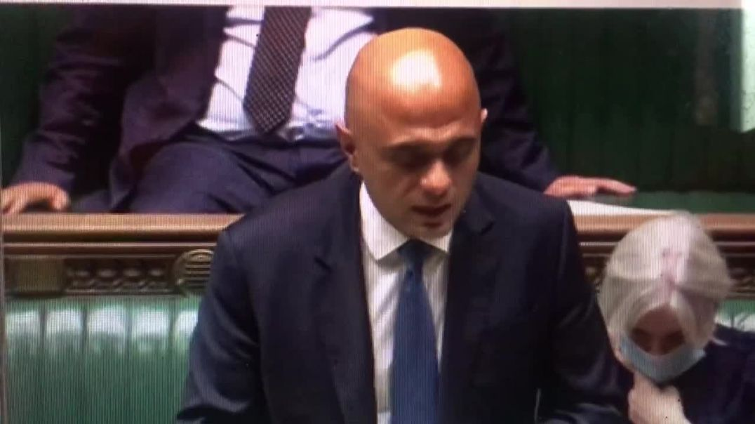 Sajid Javid today announces government will not go ahead with vaccine passports.