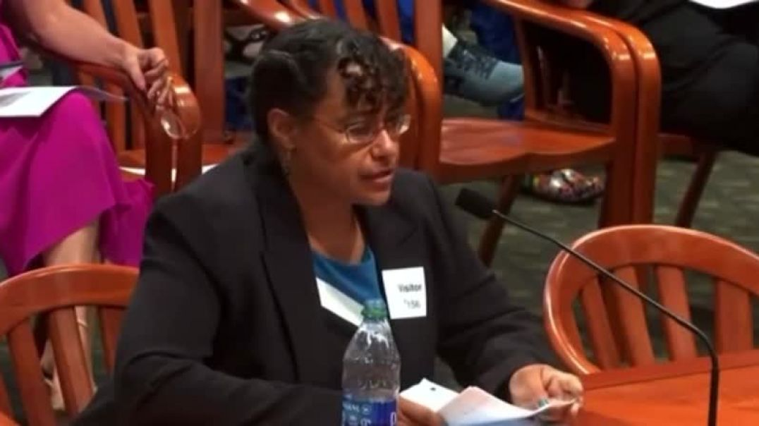 Dr. Christina Parks, PhD, testifies in support of HB4471, a bill proposed in Michigan against vaccin