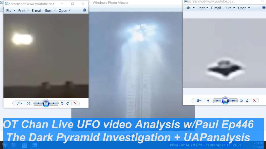 The Dark Pyramid; Fact or Fiction - UAP videos analysis and Space Topics - OT Chan Live-446 - 1080p