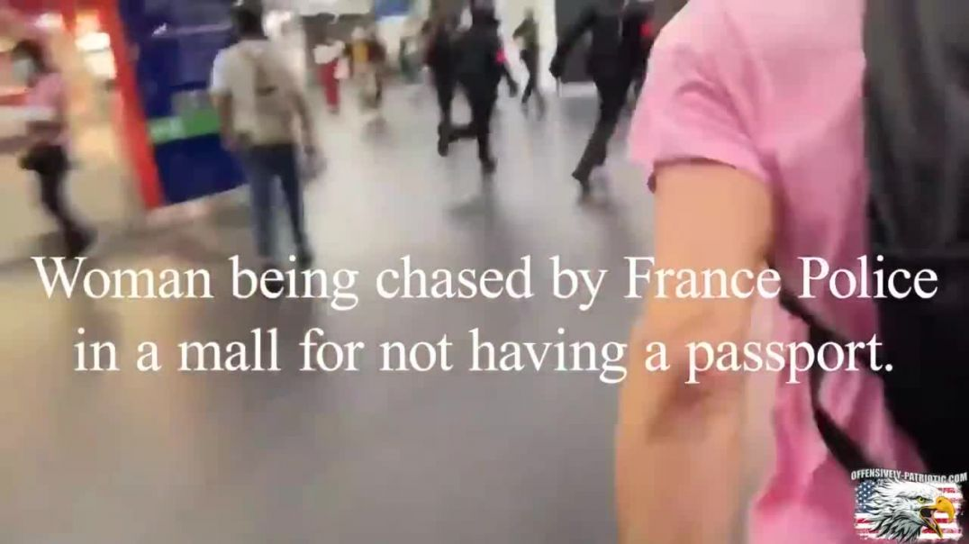 France Tries to Top Australia as the World's Worst Tyrannical Power, Beats Woman Without a Passport