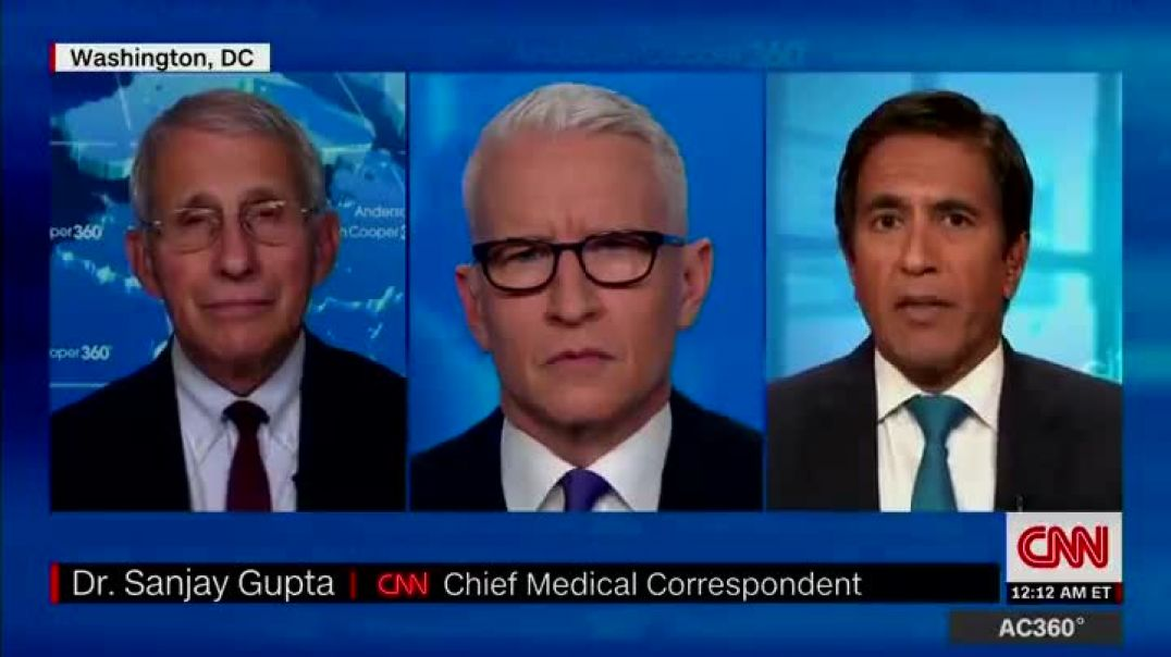 Dr. Fauci asked about Israel study showing natural infection is better than vaccine