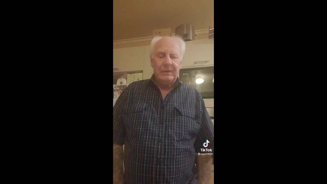Video of the day: 72 year old Australian man telling it how it is!
