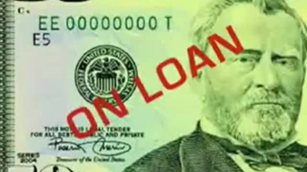 THE FEDERAL RESERVE PUTS US IN ENDLESS DEBT SLAVERY
