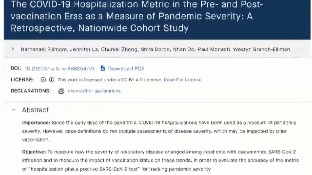 TLAV Covid-19 Hospitalization Numbers Have Always Been Deceptively Misleading The Atlantic