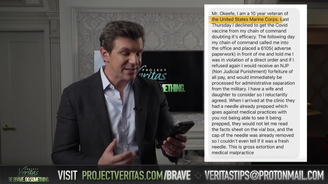 BIG ANNOUNCEMENT - Veritas To Release COVID-19 Vaccine Whistleblower Bombshell - Messages Pouring In