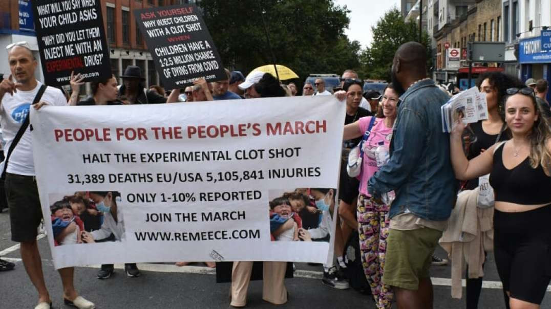 People For The People's March: London (18/09/21)