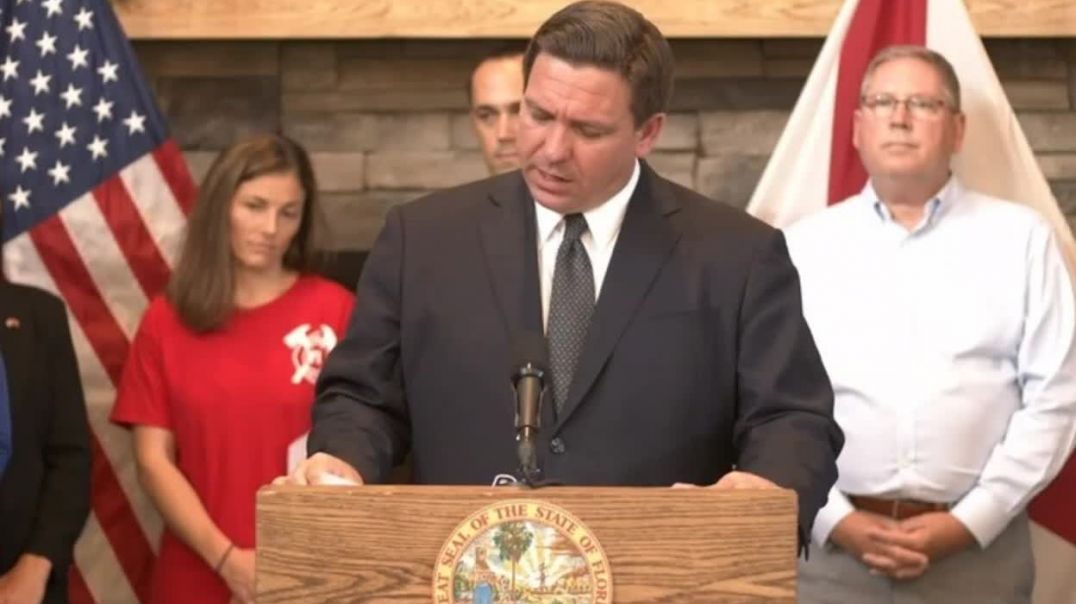 Florida Governor Threatens $5,000 Fine PER VIOLATION For Any Government Agency Mandating Jabs