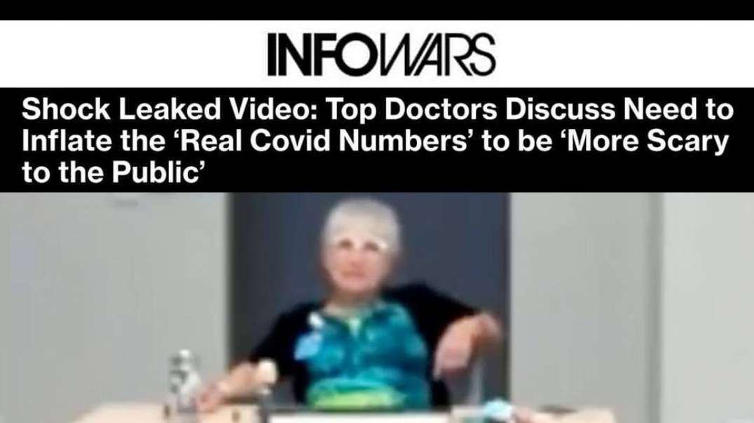 Shock Leaked Video: Top Doctors Discuss Need to Inflate the 'Real Covid Numbers' to be 'More Scary!!