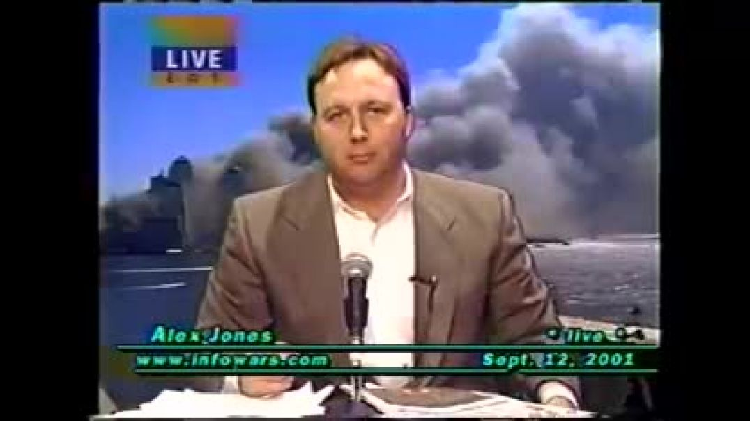 September 12_ 2001 Alex Jones The Day After The Shocking Terror Attack .