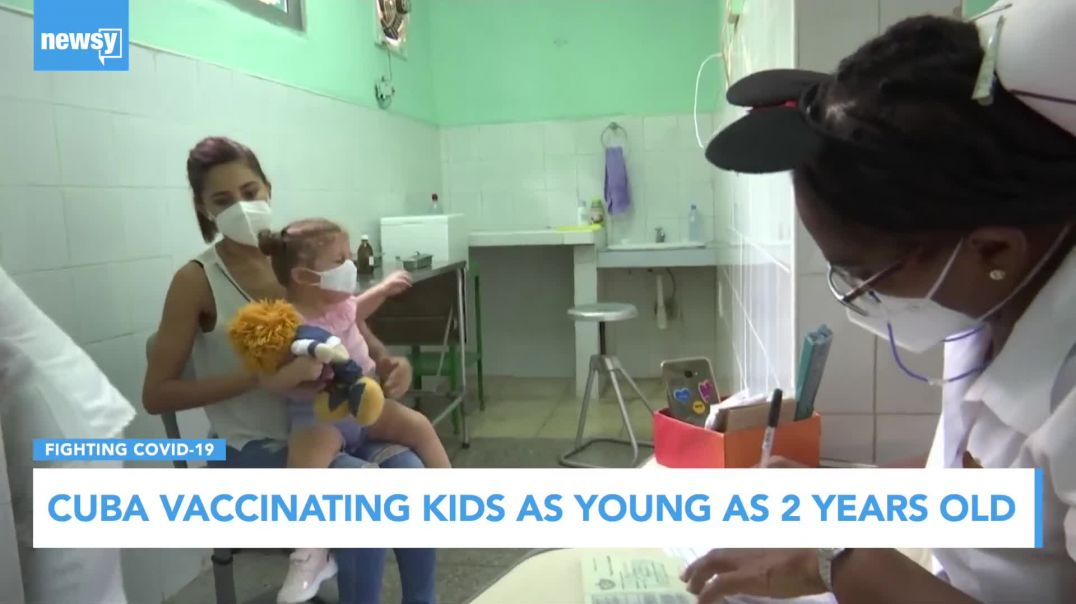 Cuba Begins Administering COVID Vaccines To Children As Young As 2