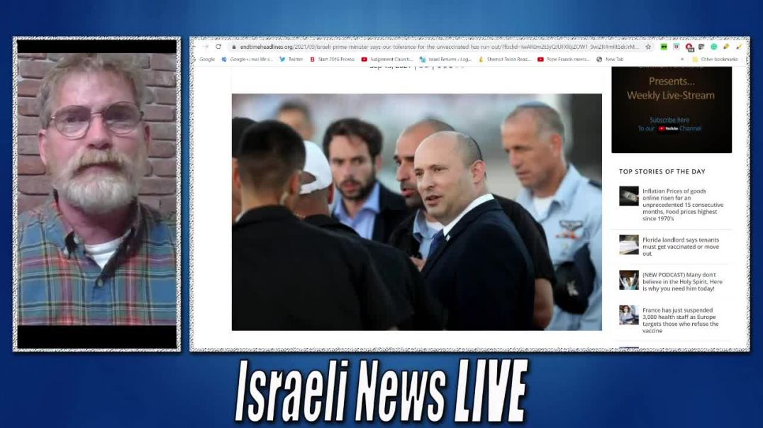 The Plan is Set in Motion in Israel With an Iron Fist