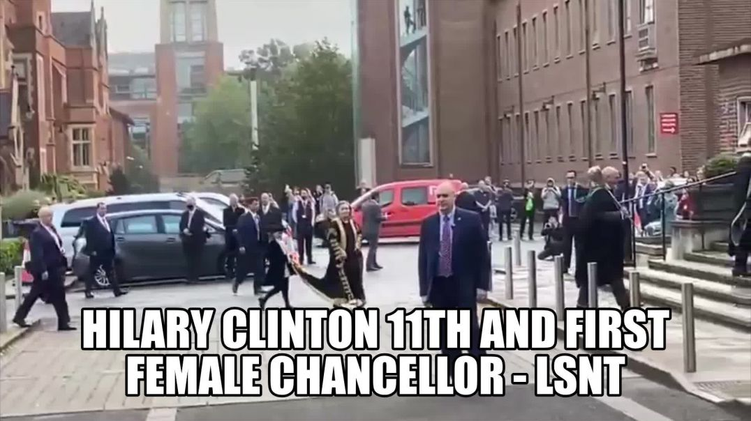HILARY CLINTON THE NEW CHANCELLOR BOOED AND CALLED A WAR CRIMINAL