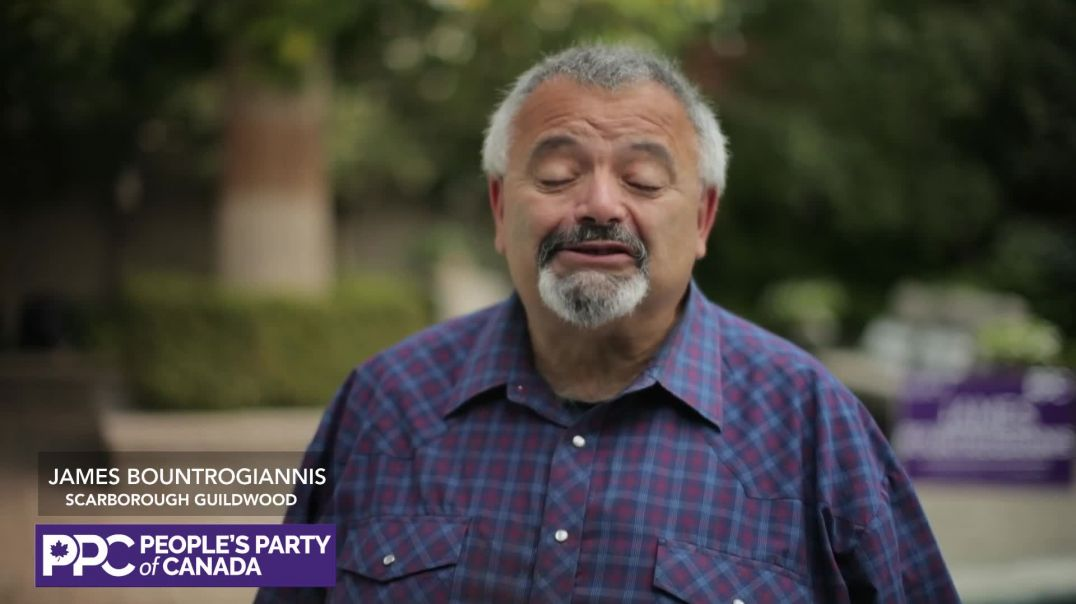 James Bountrogiannis, the People's Party of Canada candidate