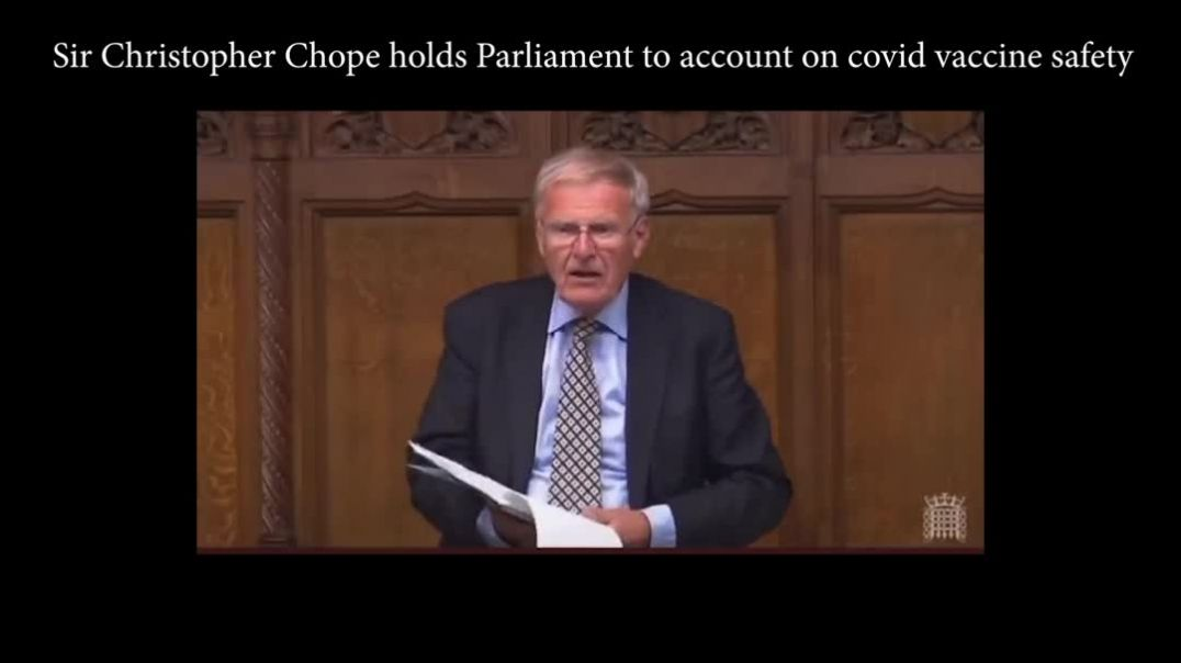Sir Christopher Chope holds Parliament to account on covid vaccine safety