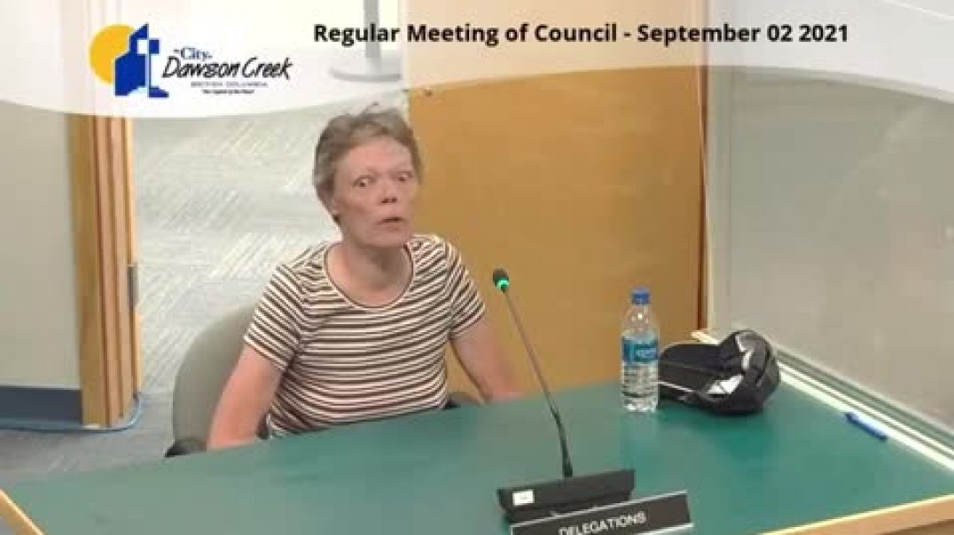 Gina speaks her knowledge to Council, Share wide..!!!
