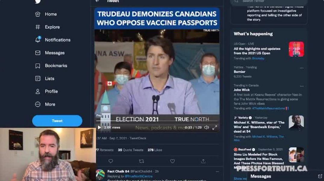 Trailing in the Polls & Detested Trudeau Looks for Sympathy in Fake Attack