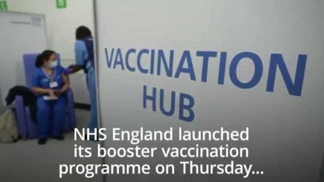 NHS desperately trying to PROMOTE BOOSTER JABS